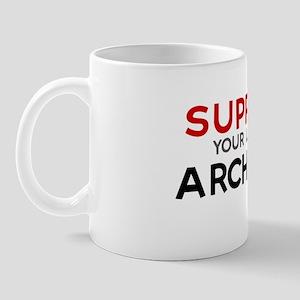 Support:  ARCHIVIST Mug