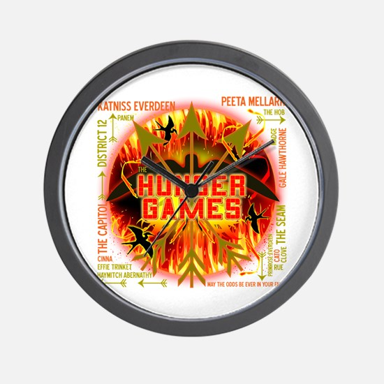 Hunger Games Collective Wall Clock
