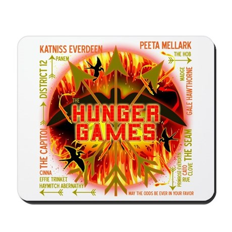 Hunger Games Collective Mousepad
