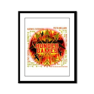 Hunger Games Collective Framed Panel Print