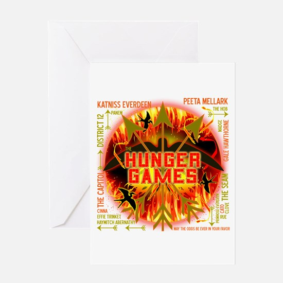 Hunger Games Collective Greeting Card