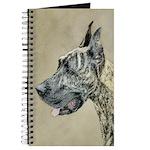 Great Dane (Brindle) Journal