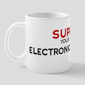 Support:  ELECTRONICS ENGINEE Mug