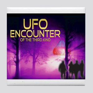 UFO Encounter Tile Coaster