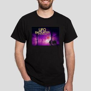UFO Encounter Dark T-Shirt
