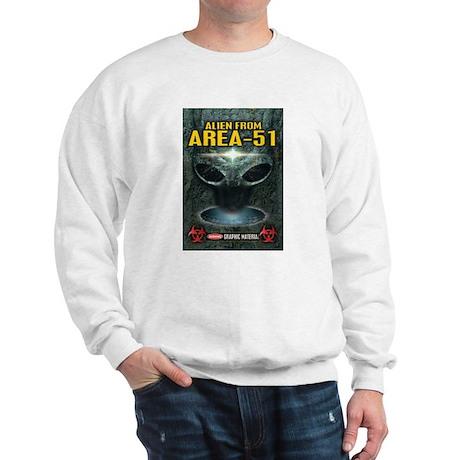 Area-51 Alien Sweatshirt