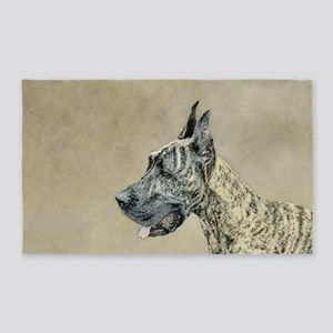 Great Dane (Brindle) Area Rug