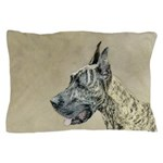 Great Dane (Brindle) Pillow Case