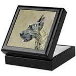 Great Dane (Brindle) Keepsake Box