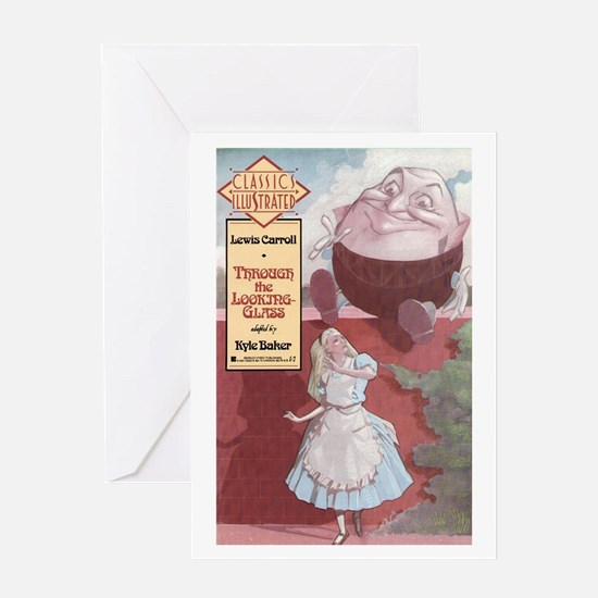 What Alice Found There Greeting Card