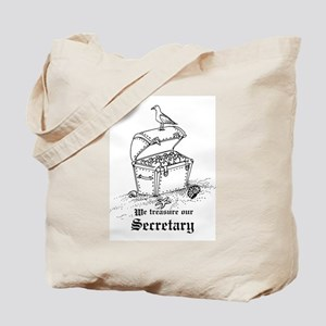 Treasure Secretary Tote Bag
