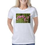 Pink Tulips Women's Classic T-Shirt