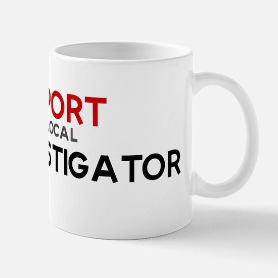 Support:  FIRE INVESTIGATOR Mug