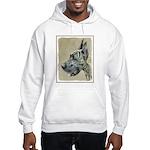 Great Dane (Brindle) Hooded Sweatshirt