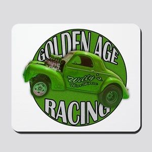 1941 Willys Gasser Lime Mousepad