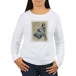 Great Dane (Brindle) Women's Long Sleeve T-Shirt