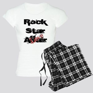 Rock Star Love Affair (blk) Women's Light Pajamas