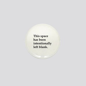 This Space Mini Button