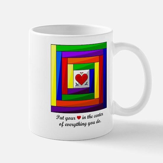 Quilt Square Mug