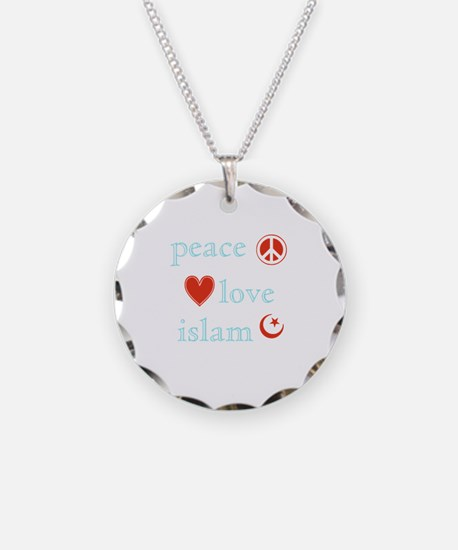 Peace, Love and Islam Necklace