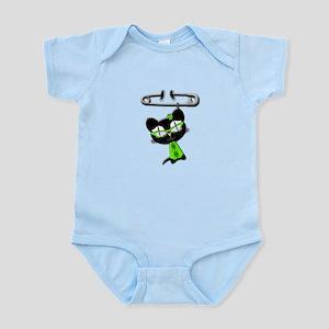 Irish Kitty Charm Infant Bodysuit