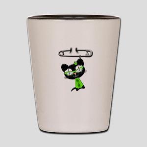Irish Kitty Charm Shot Glass