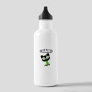 Irish Kitty Charm Stainless Water Bottle 1.0L