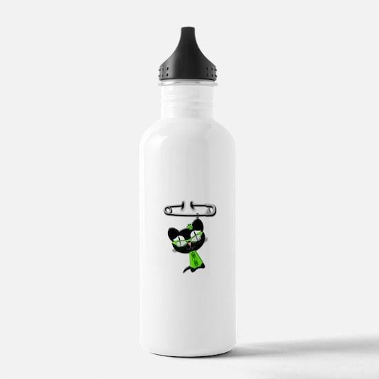 Irish Kitty Charm Water Bottle