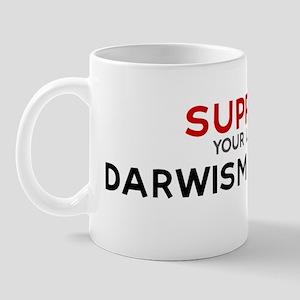 Support:  DARWISM TEACHER Mug