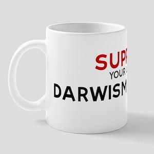 Support:  DARWISM STUDENT Mug