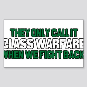 They Only Call it Class Warfa Sticker (Rectangle)