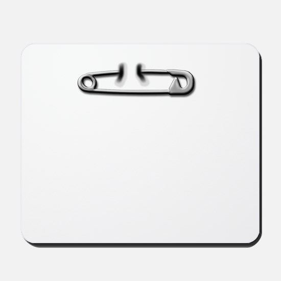 Safety Pin Mousepad
