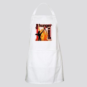 Katniss on Fire Hunger Games Gear Apron