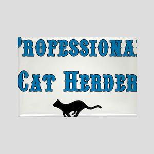 Professional Cat Herder Rectangle Magnet