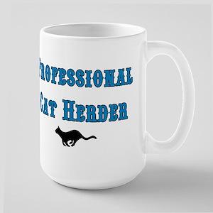 Professional Cat Herder Large Mug