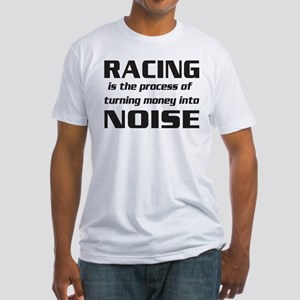 Racing Noise Fitted T-Shirt