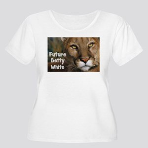 Betty White Cougars Women's Plus Size Scoop Neck T