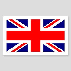 UK Flag Rectangle Sticker