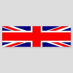 UK Flag Bumper Sticker