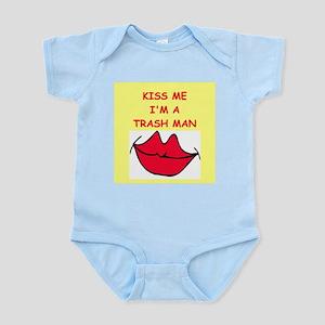 trash man Infant Bodysuit