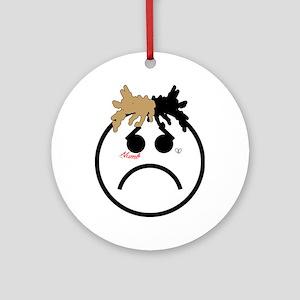 Xxxtentacion emoji Round Ornament