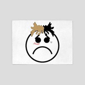 Xxxtentacion emoji 5'x7'Area Rug