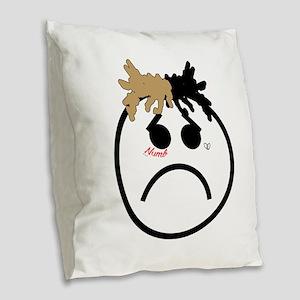 Xxxtentacion emoji Burlap Throw Pillow