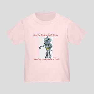 Toddler T-Shirt PollyLollyArfJumpswingSamRhyme