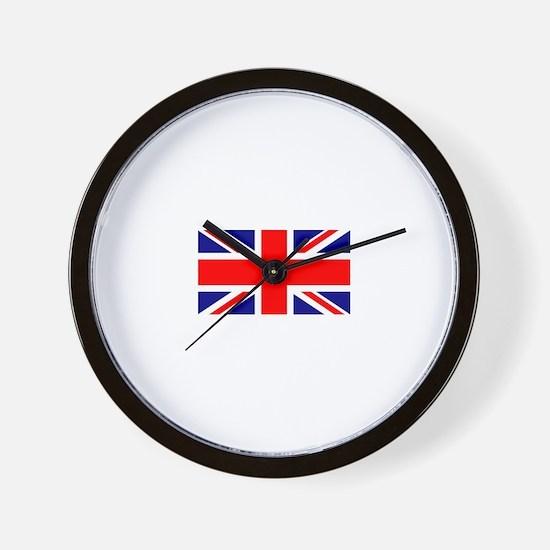 UK Flag Wall Clock