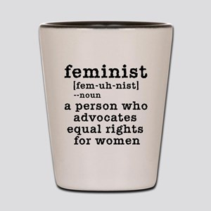 Feminist Definition Shot Glass