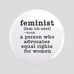 "Feminist Definition 3.5"" Button"