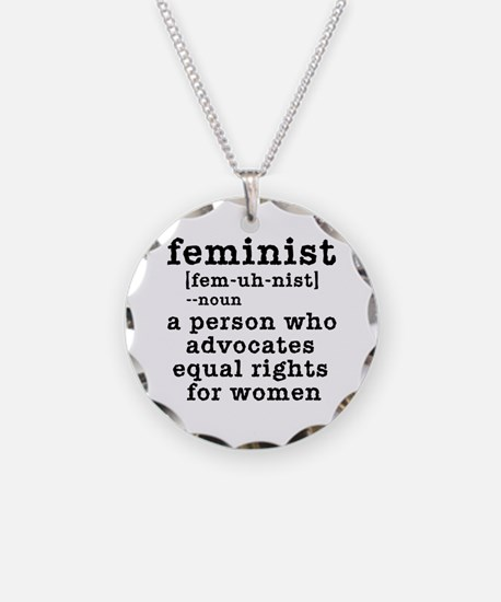 Feminist Definition Necklace
