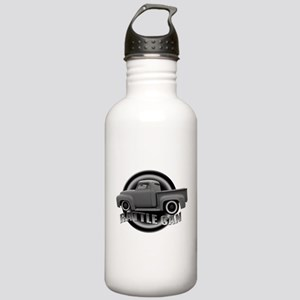 Rattle Can Rat Rod Pick Up Stainless Water Bottle