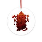 Ganesha3 Ornament (Round)